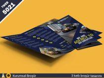 5021 Kurumsal 3 katlı broşür