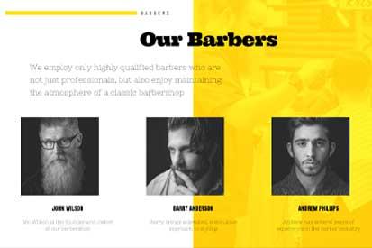 Barber Shop Barbers